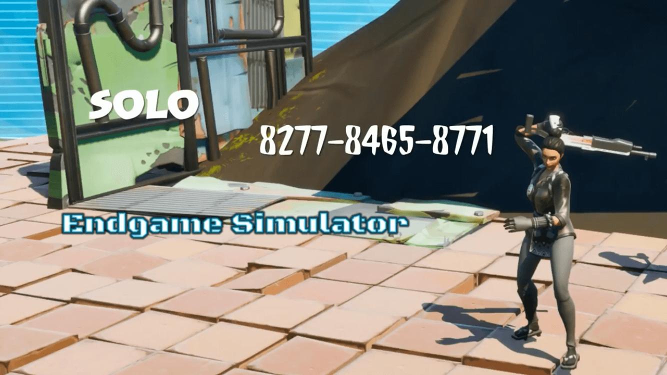 Endgame Fortnite Creative Code Solo Endgame Simulator Fortnite Creative Map Code Dropnite