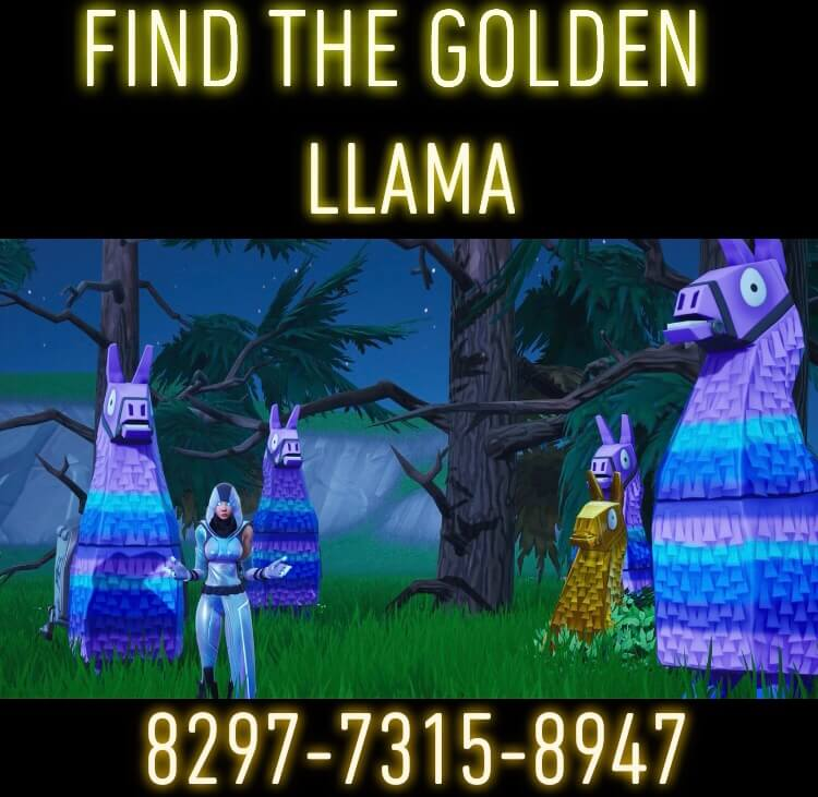 FIND THE GOLDEN LLAMA