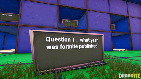 FORTNITE 10 QUSTION QUIZ !!