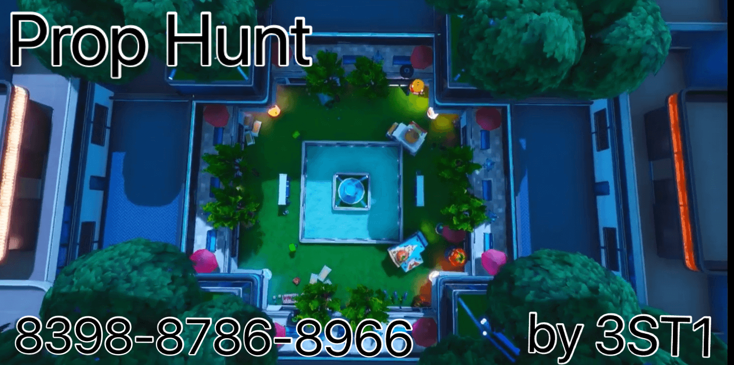 PROP HUNT IN THE SMALL CITY (BY 3ST1)
