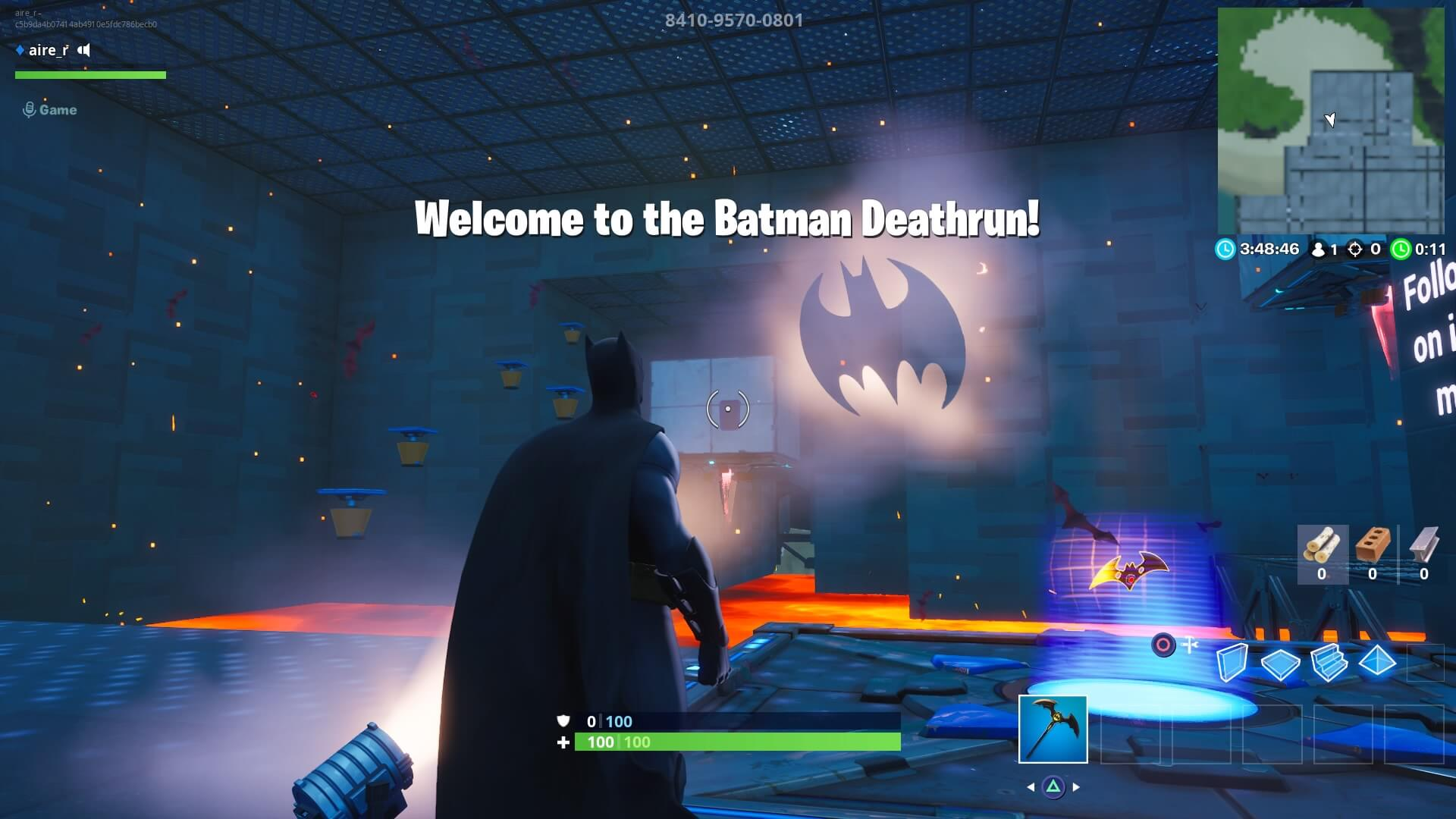THE BATMAN DEATHRUN