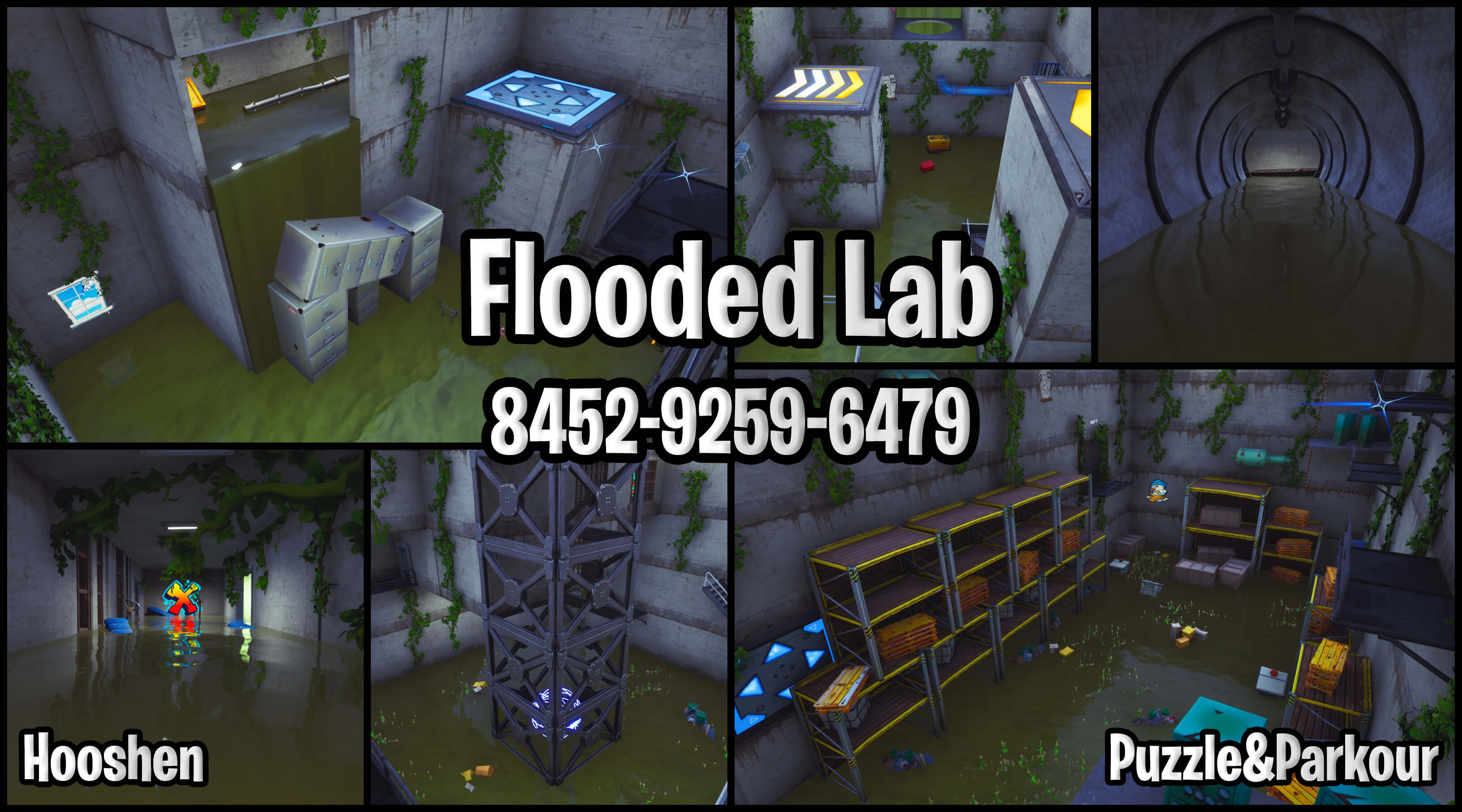 FLOODED LAB