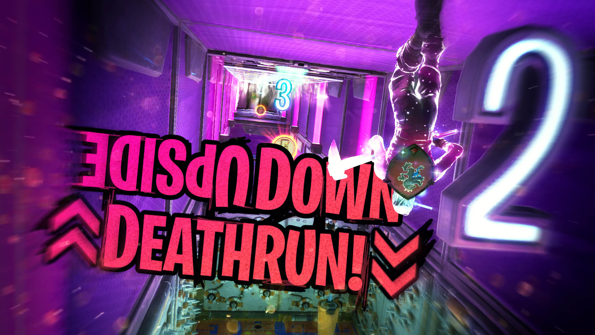 UPSIDE DOWN DEATHRUN!