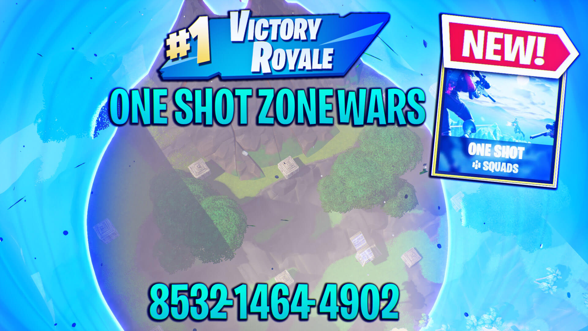 ONE SHOT ZONE WARS BY ZYREMS
