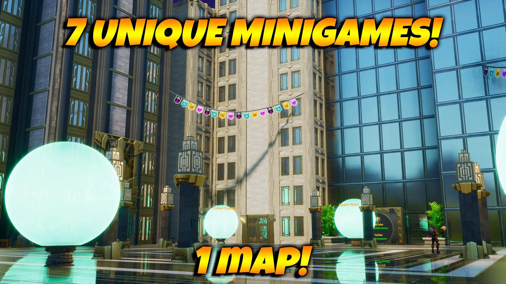 MINI GAME CITY!