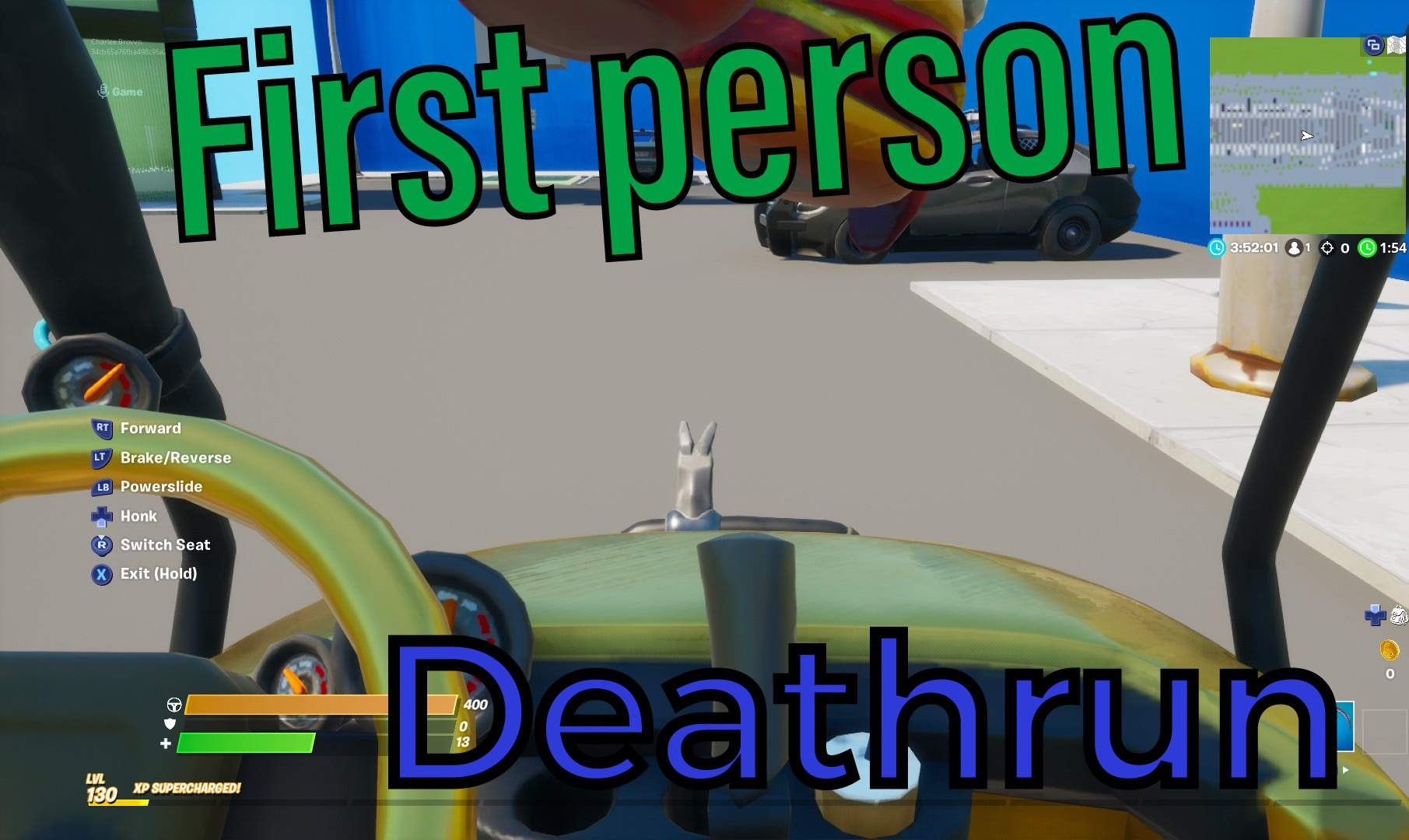 FIRST PERSON DEATHRUN