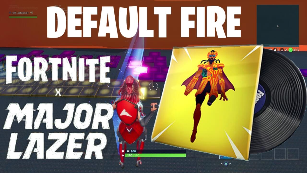 MAJOR LAZER - DEFAULT FIRE