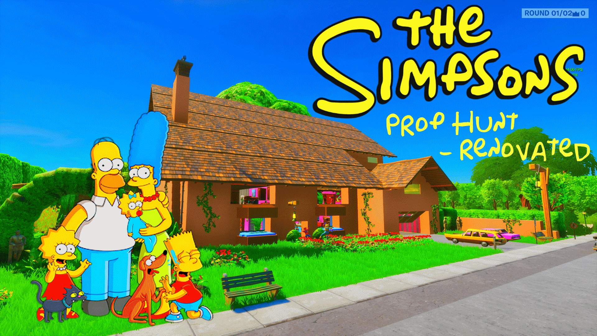 PROP HUNT: THE SIMPSONS RENOVATED