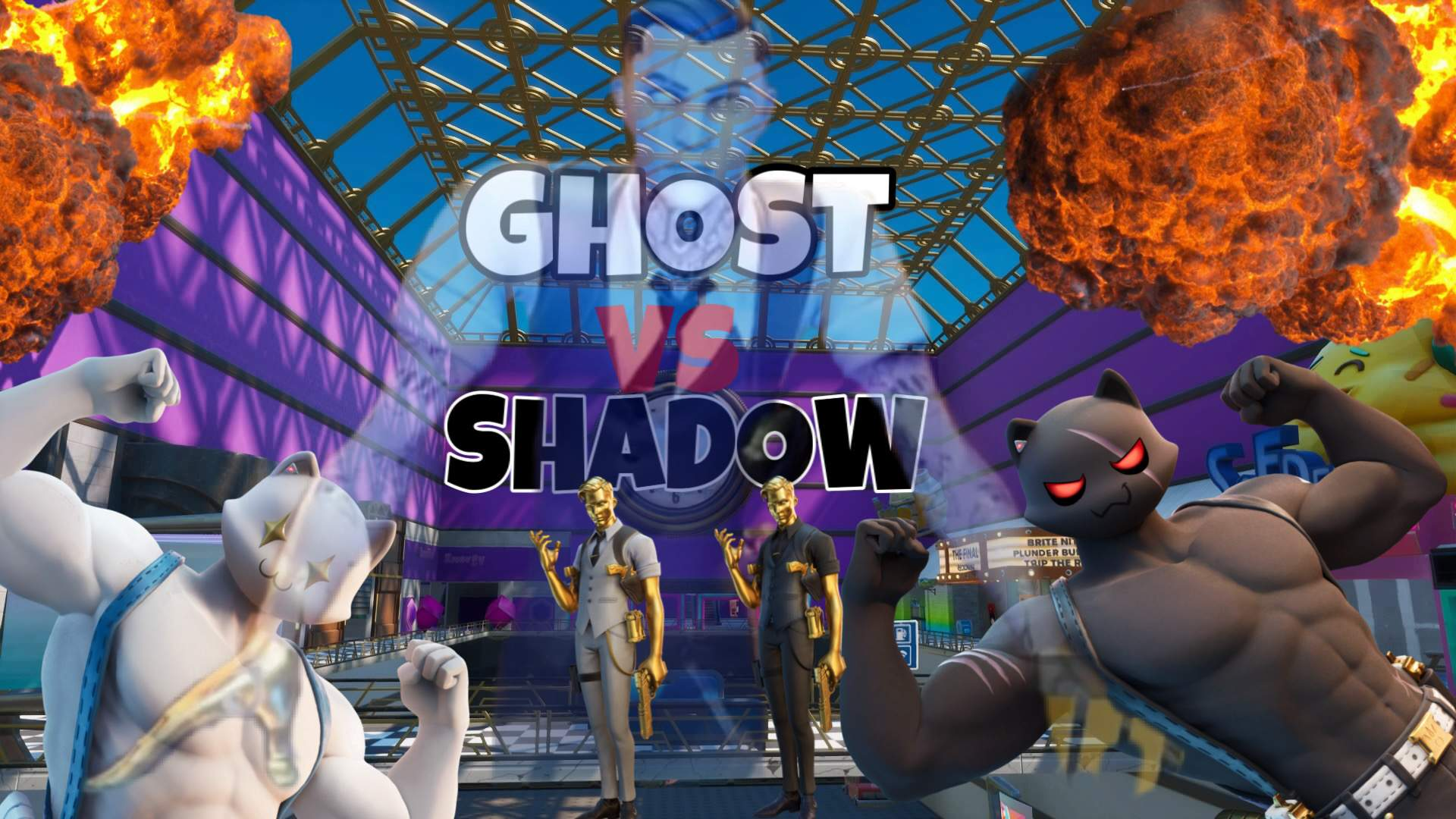 GHOST VS SHADOW MALL WARS