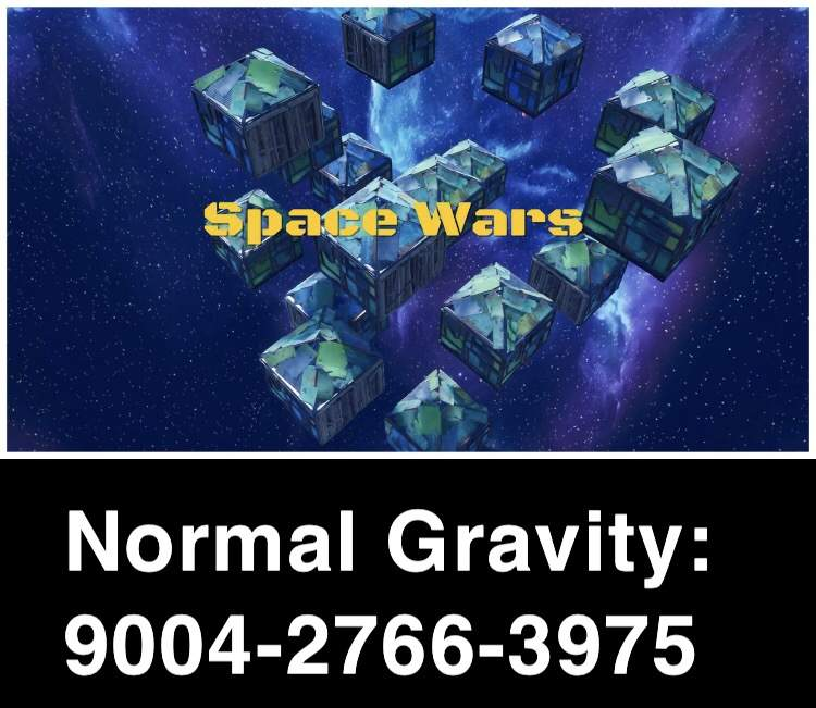 SPACE WARS: NORMAL GRAVITY