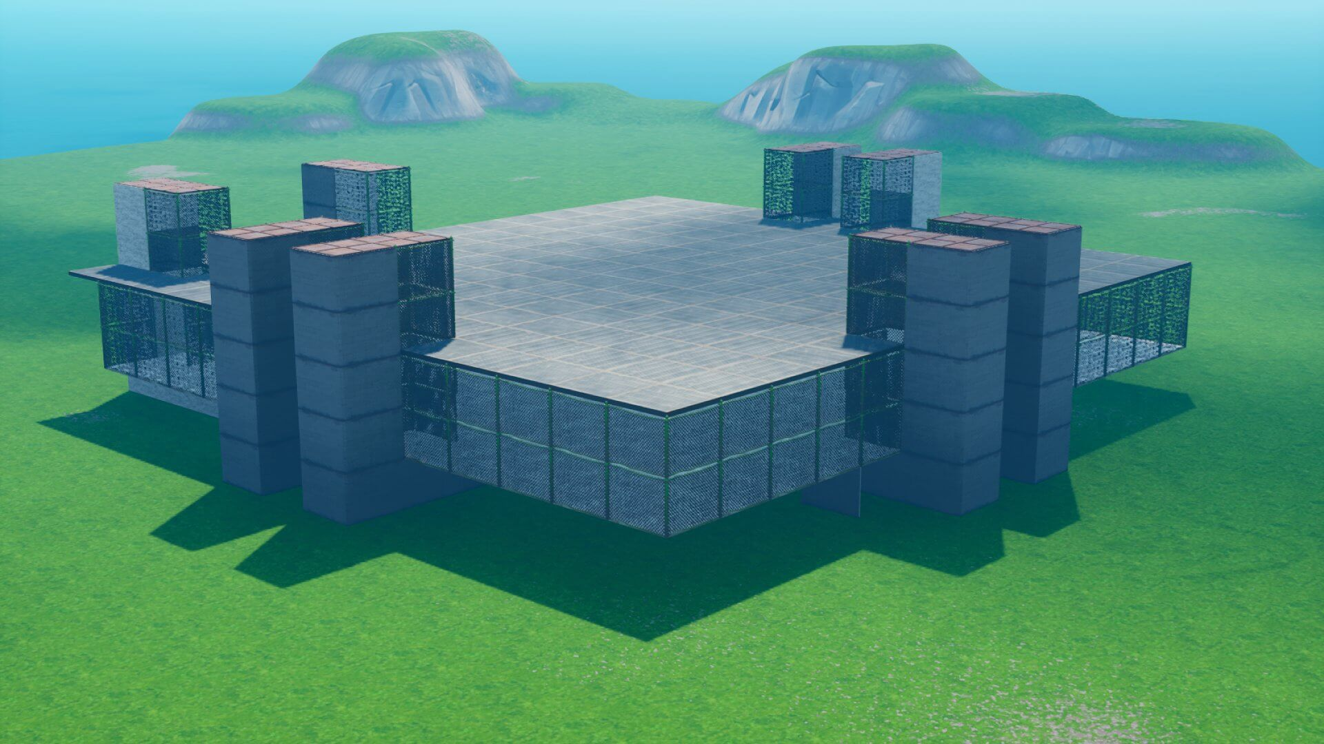 MAP BOX AND BUILD FIGHT