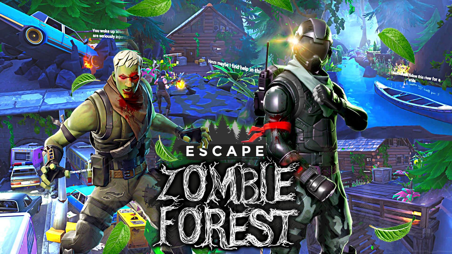 Escape Zombie Forest Fortnite Creative Map Codes