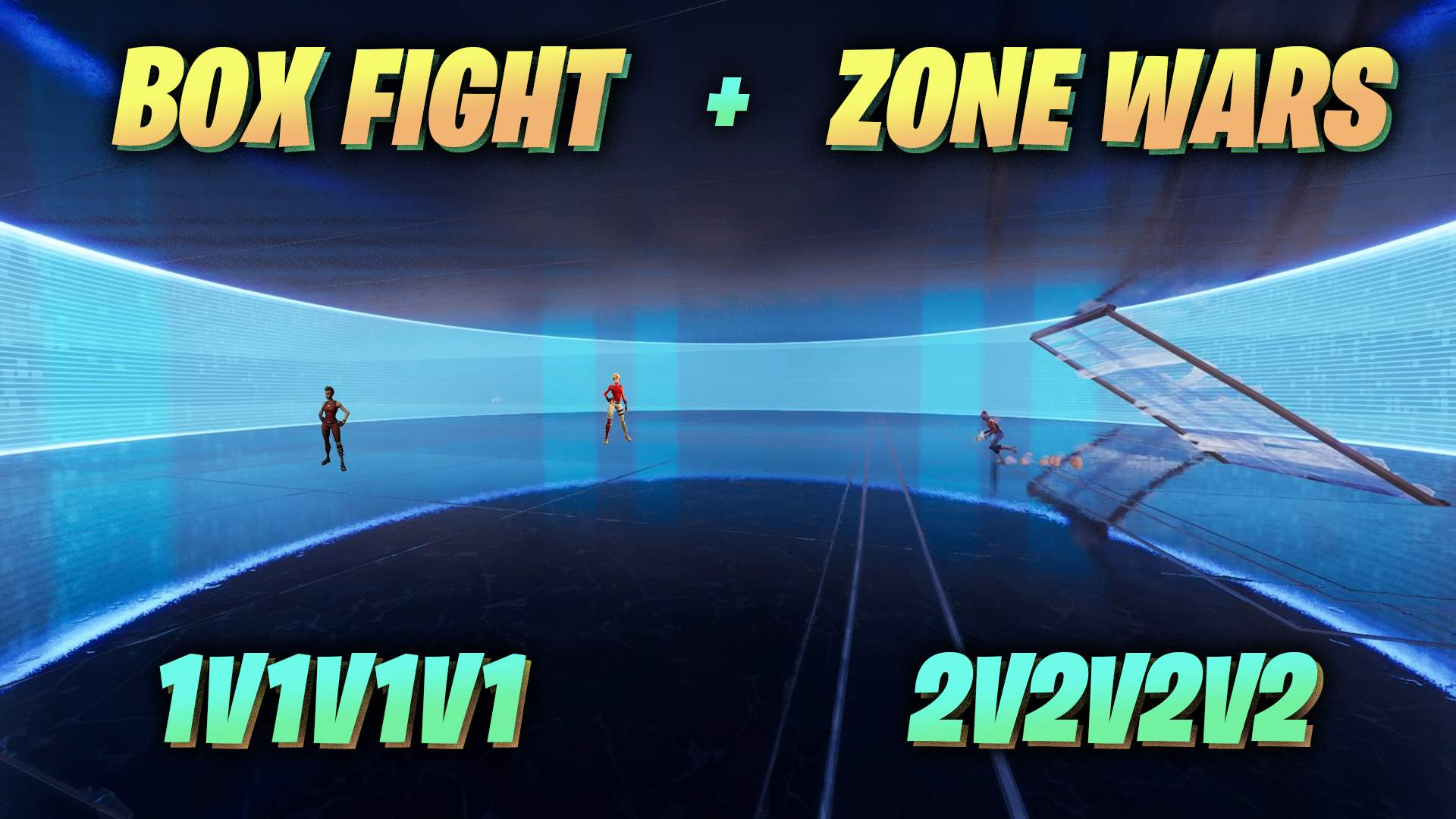 BOXFIGHT + ZONE WARS [1V1V1V1][2V2V2V2]