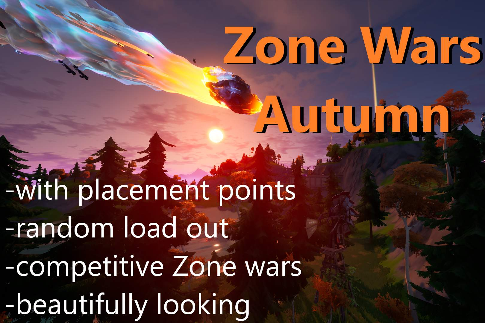 ZONE WARS AUTUMN