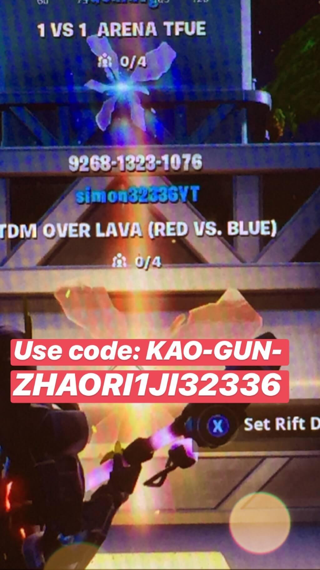 Tdm Over Lava Red Vs Blue Fortnite Creative Map Codes