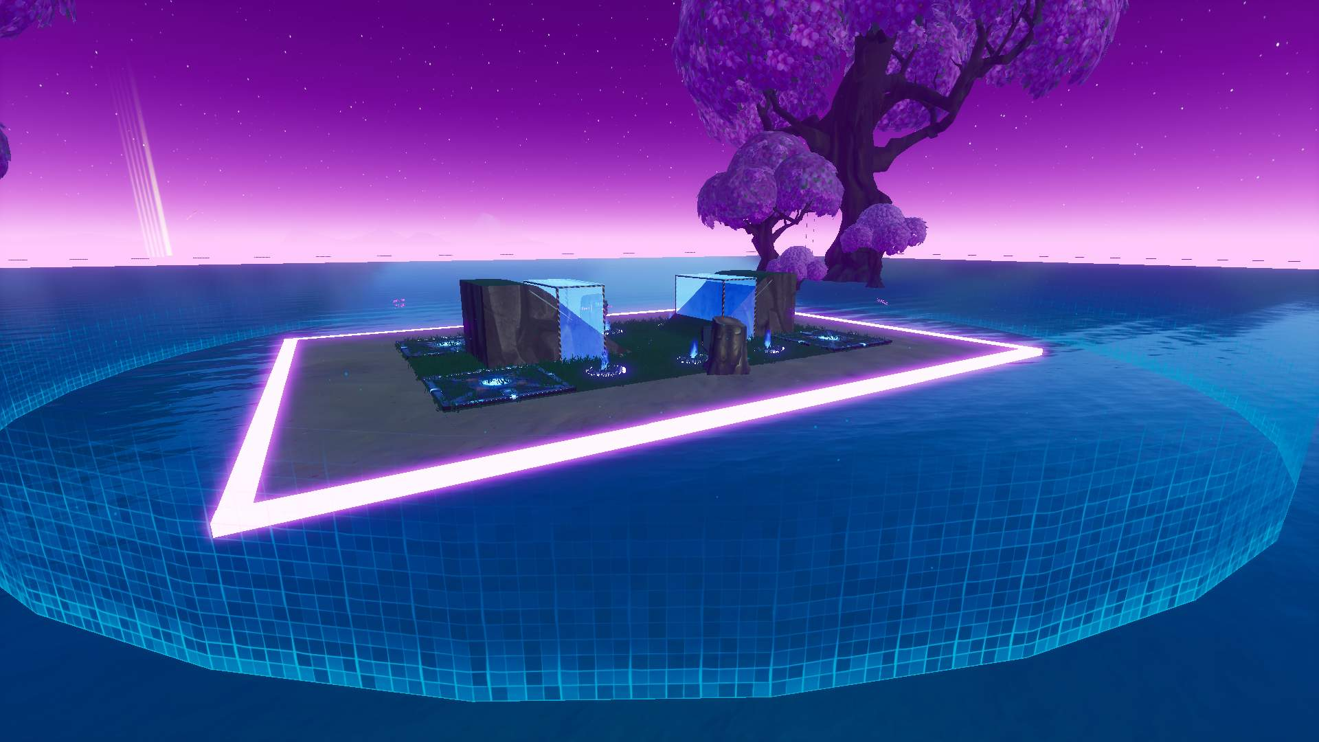 FLOATING NEON 1V1 MAP