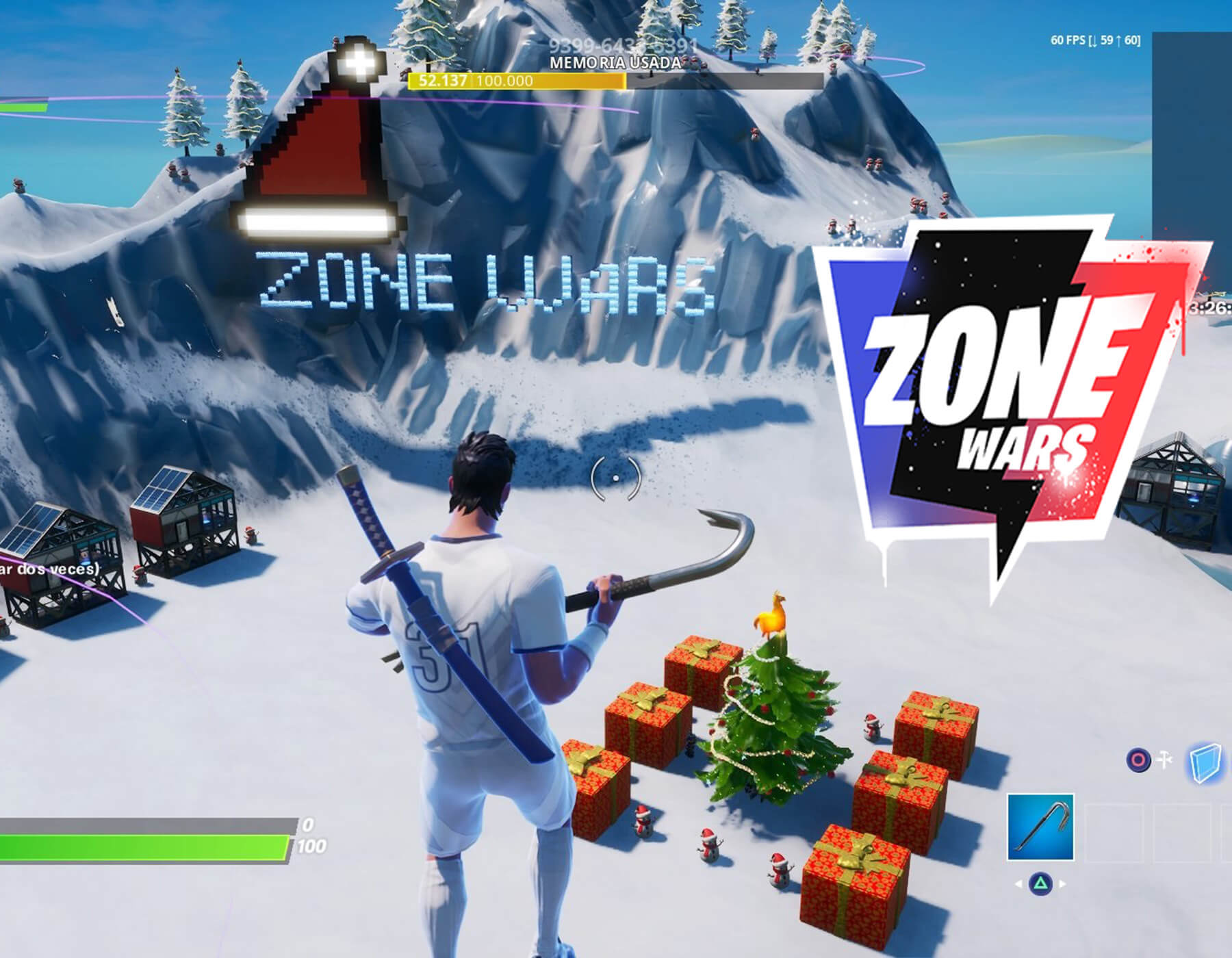 ZONE WARS: FROSTY HILL UP