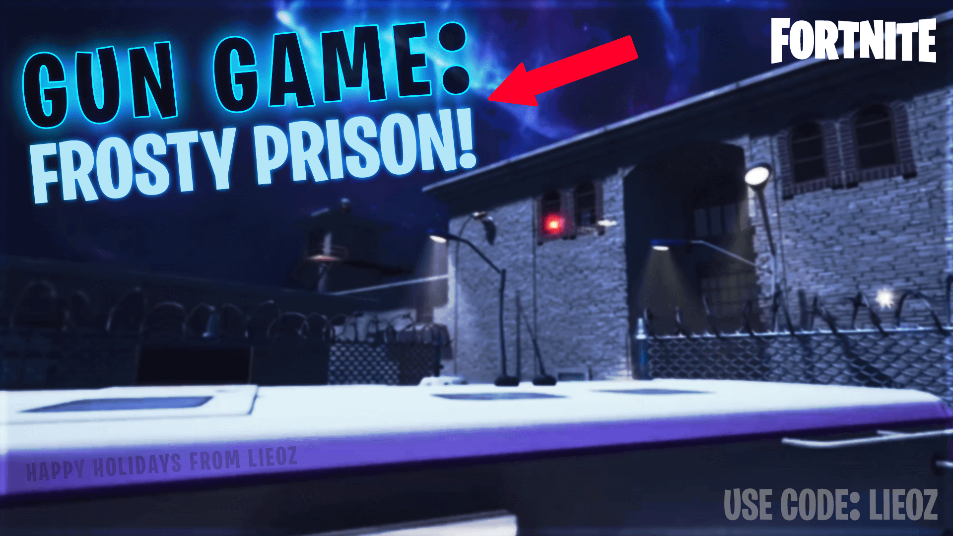GUN GAME: FROSTY PRISON!
