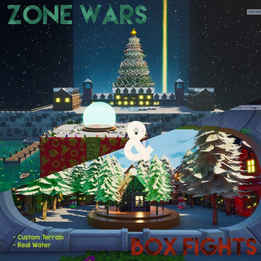 BOX FIGHT ZONE WARS: MERRY MASH-UP