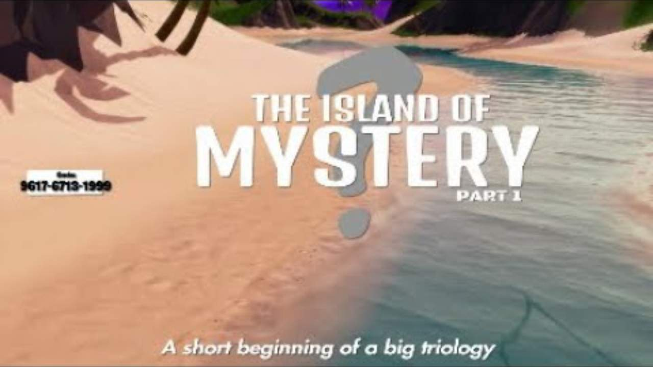 THE ISLAND OF MYSTERY PART 1