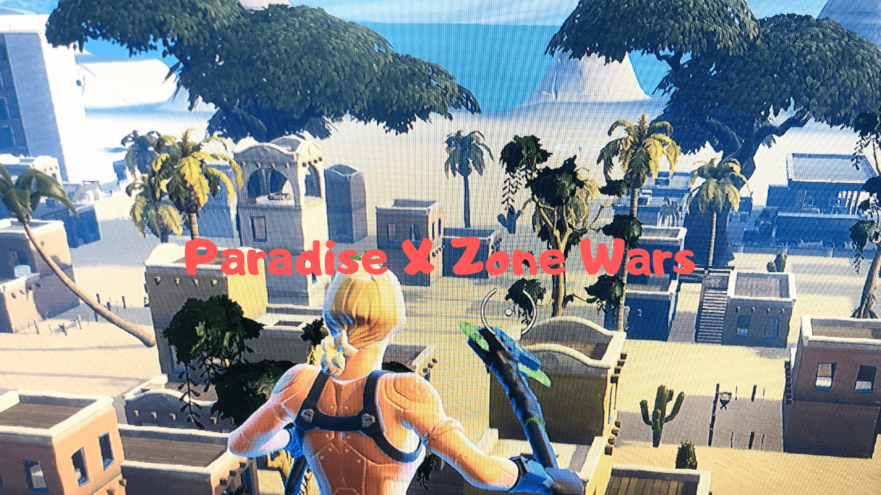 PARADISE X ZONE WARS 1.0 BETA