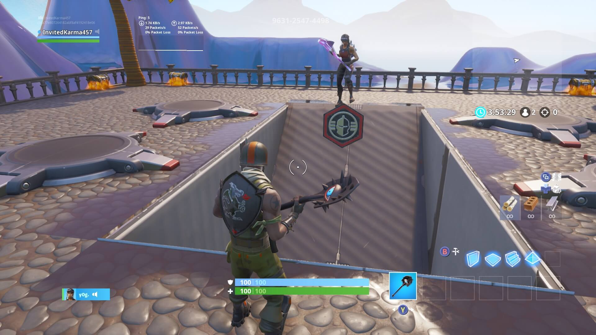 ⚡ Creative codes fortnite 1v1 | Map with Ready  2019-02-25