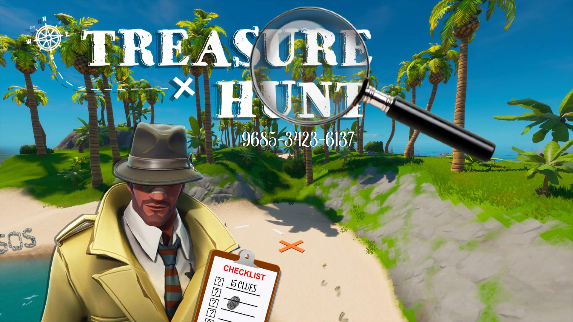 TREASURE HUNT ISLAND