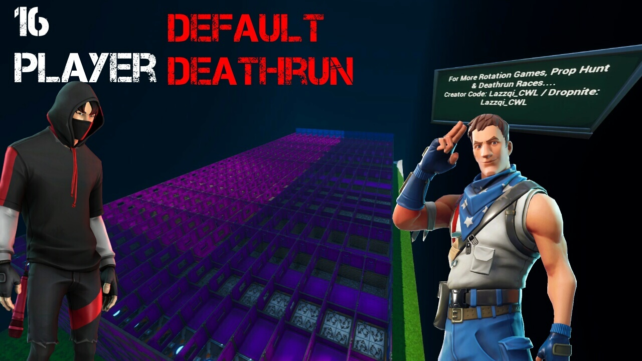 16 PLAYER DEFAULT DEATHRUN RACE!