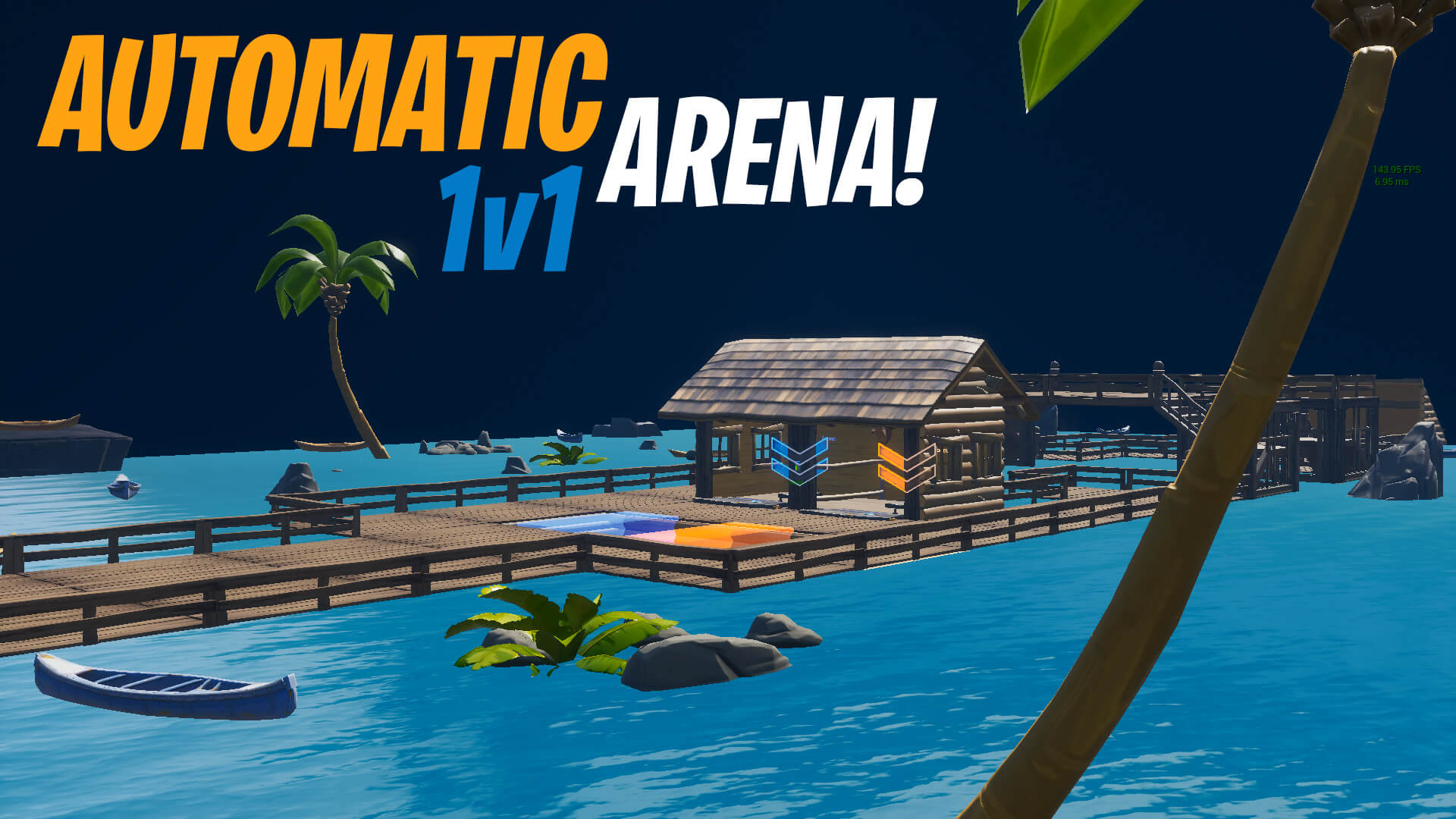 INSANE AUTOMATIC 1V1 ARENA!