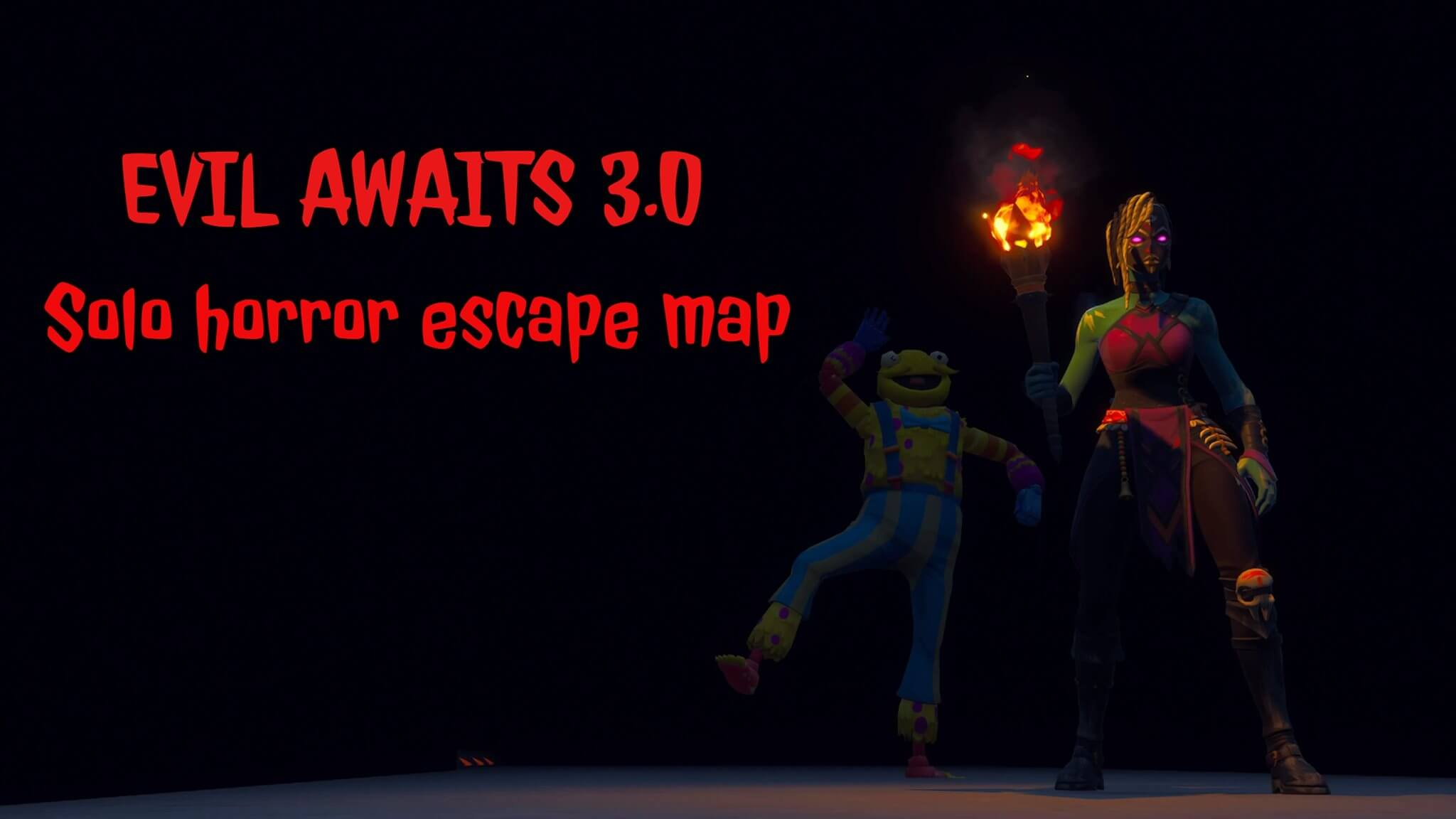 EVIL AWAITS 3.0 (SOLO HORROR ESCAPE MAP)