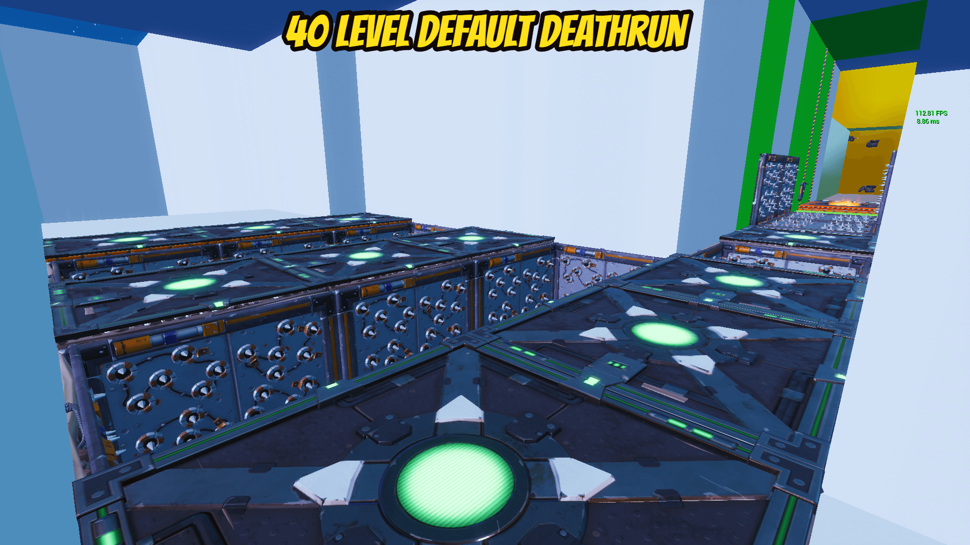 40 LEVEL DEFAULT DEATHRUN