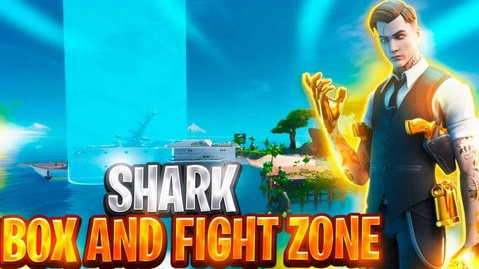 BOX AND FIGHT ZONE: SHARK