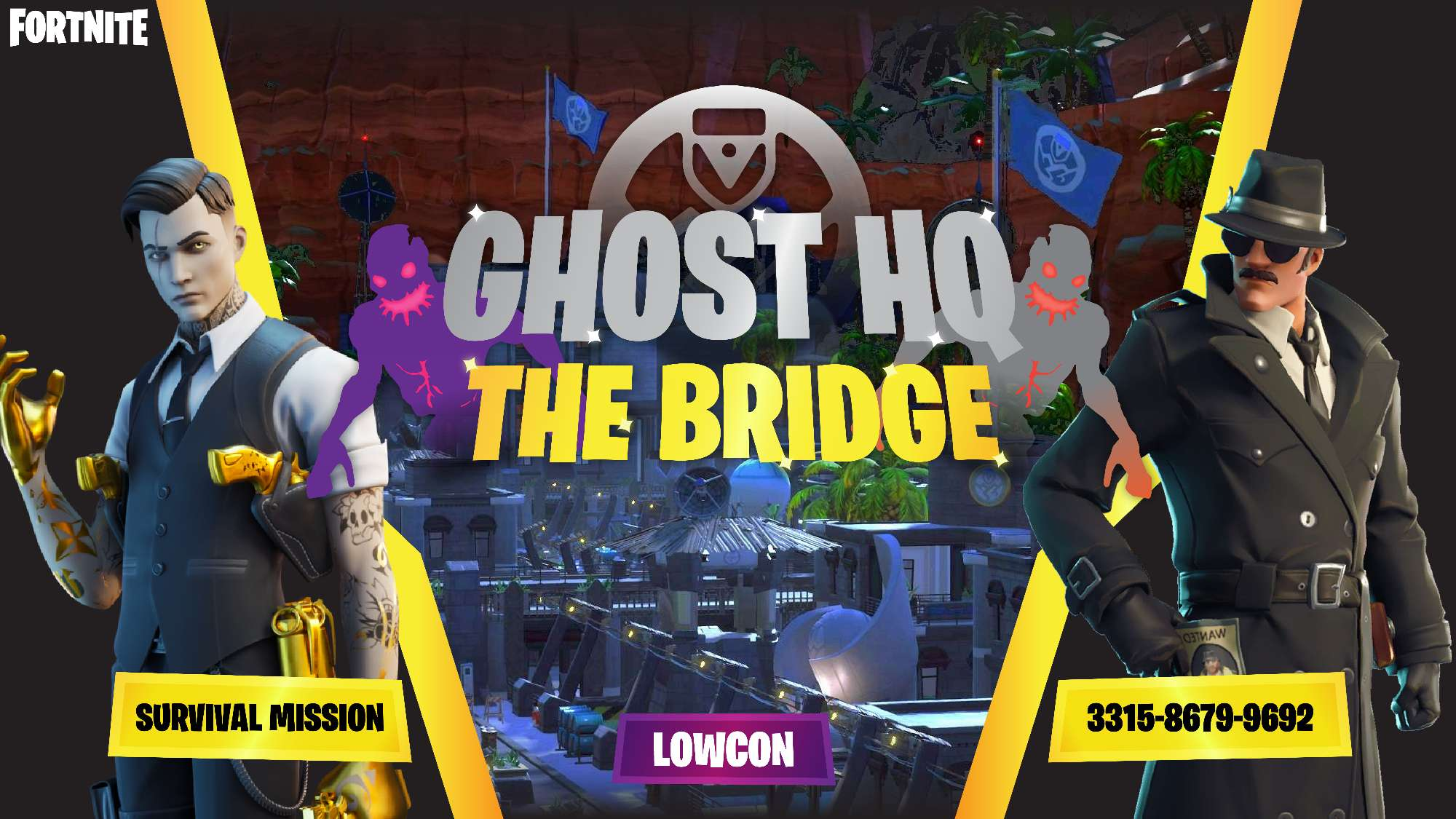 GHOST HQ: Survival Mission