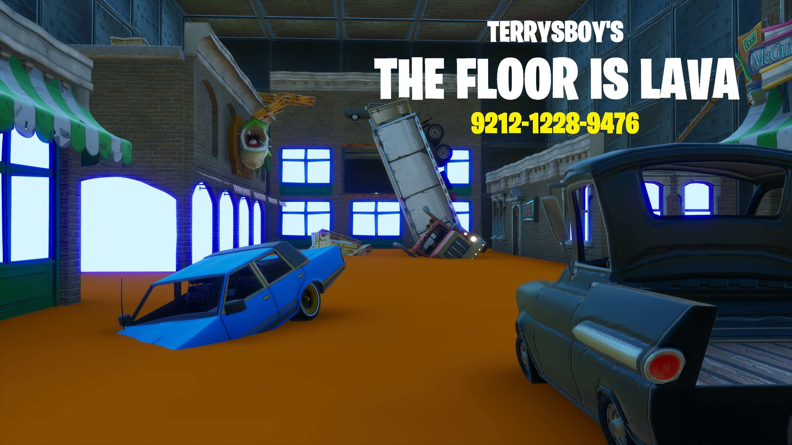 The Floor Is Lava Roblox Game Codes The Floor Is Lava Parkour Fortnite Creative Map Codes Dropnite Com
