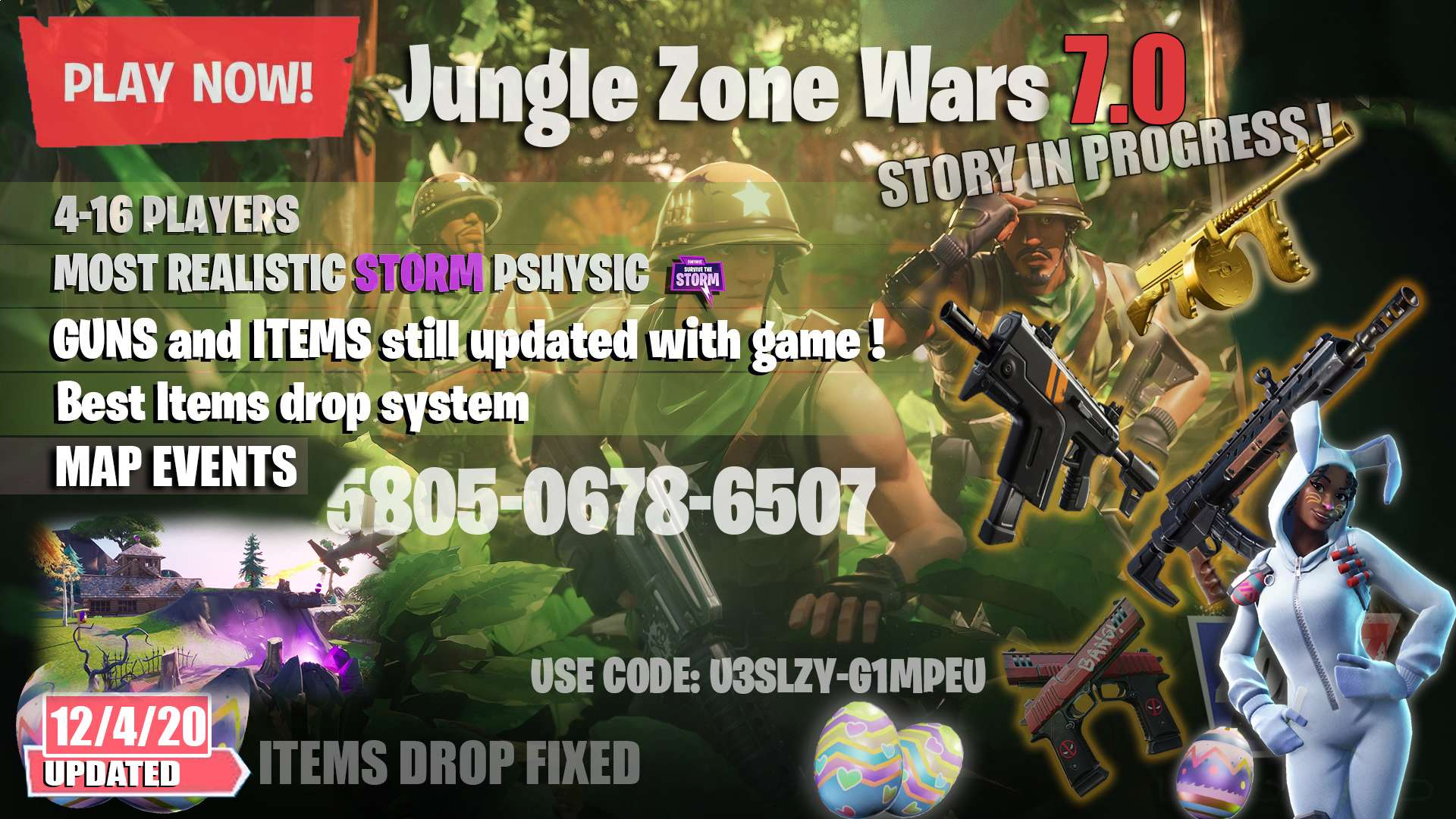JUNGLE ZONE WARS 7.0