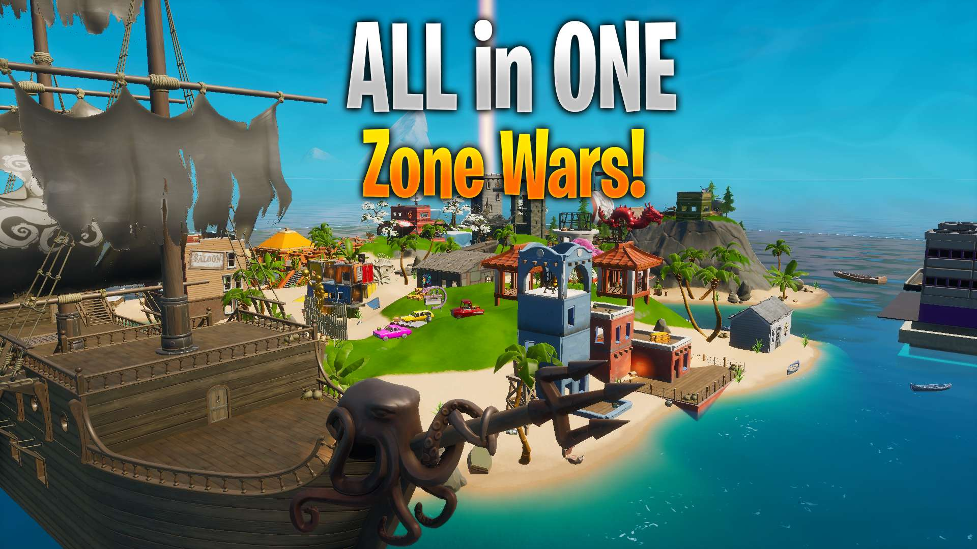 ALL IN ONE ZONE WARS!