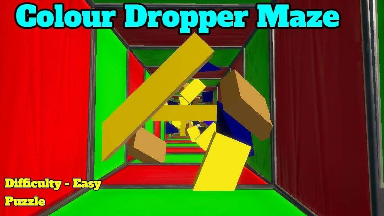 COLOUR DROPPER MAZE