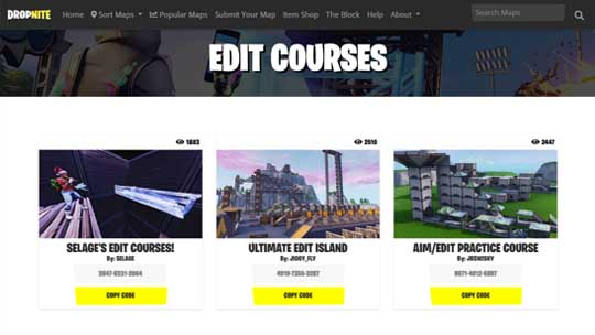Fortnite Creative Edit Course Map Codes Fortnite Creative